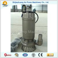 Buy cheap hot sales stainless steel impeller submersible sewage pump from wholesalers