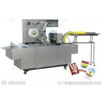 China GGB-200A Cellophane Packaging Machine , Henan GELGOOG Carton Box Wrapping Machine on sale
