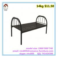 Buy cheap top quality cheap price metal beds metal single bed B006 from wholesalers