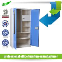 Buy cheap Knock down factory price metal wardrobe from wholesalers
