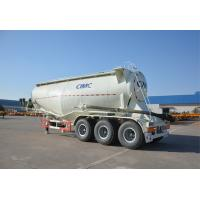 Buy cheap 3 Axles 50 Tons Cement Tanker Trailer 3 Axle With Carbon Steel Silo from wholesalers