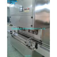 Buy cheap Automatic linear type oil vacuum filler for olive cooking sunflower oil in bottle barrel o from wholesalers