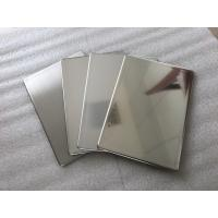 Buy cheap Mirror Finish Stainless Steel Wall Panels Anti - Static With Fire Resistance product