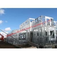 Buy cheap Galvanized H- Beam Steel Structure Framing Systems For Workshop or Villa House from wholesalers