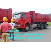 Euro II Emission Standard 371 Hp Heavy Duty Dump Truck One Year Warranty
