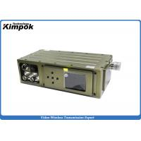 Buy cheap Military COFDM HD Video Transmitter 5W Surveillance Wireless RF Transmitter Encryped from wholesalers