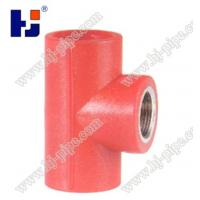 Buy cheap Plastic pipe fittings PPR reducer female thread tee from wholesalers