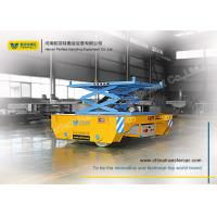 Buy cheap material handling  elevating transfer car with scissor  lift from wholesalers