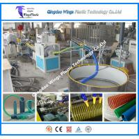 Buy cheap PVC Suction Hose Extrusion Line / PVC Spiral Enhanced Pipe Making Machine from wholesalers