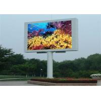 Buy cheap P10 High Definition electronic billboards advertising , simple structures from wholesalers