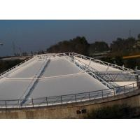 Buy cheap PVC White Tensile Membrane Structures Size Customized For Septic Tank OEM from wholesalers