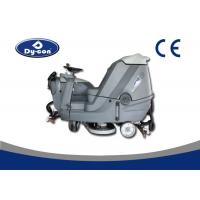 Buy cheap Riding On Battery Powered Floor Scrubber Dryer Machine Metal Gear Reduce from wholesalers