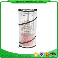Buy cheap Metal Tomato Cages / Tomato Plant Stakes With Pop Up Grow Mesh Bag 18 in diameter x 38 H White and Black or as reques from wholesalers