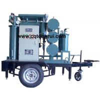 Buy cheap Protable ZJL Dielectric Oil Purifier with Trailer,Insulating Oil Filtration machine from wholesalers