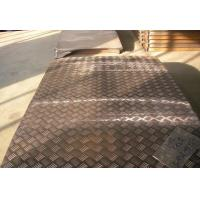 Buy cheap Alloy Embossed Aluminum Sheet 5 Bars for Bus 5.2mm Thickness from wholesalers