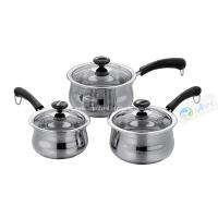 Buy cheap 6Pcs Commercial Stainless Steel Milk Pot/Milk Boiler from wholesalers