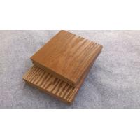 Buy cheap Anti-Corrosion Grooves / Slot Wood Fiber / WPC Composite Decking For Pool from wholesalers
