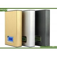 China PC Material LCD Power Bank Fast Charge 12000mAh External Battery 20 * 70 * 110mm on sale