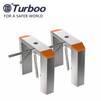 Buy cheap 0.2S RS485 RFID Tripod Turnstile Gate For Office Building product