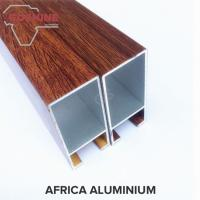 Buy cheap Wood Finish extruded aluminum profiles Boiling Resistance And Alkali Resistance product