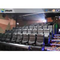 Buy cheap Amusement Park 4D Movie Theater With Electric System / 4D Cinema Chairs product