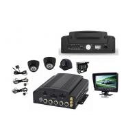 Buy cheap SD HDD WIFI GPS Tracking 3G / 4G 4 Camera Car DVR Support AHD Camera from wholesalers