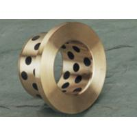 Hydraulic Cylinder Cast Bronze Bearings / Casting Solid Lubricant Bearings