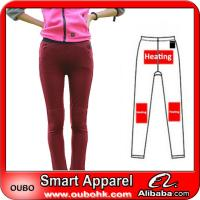 Buy cheap Fashion Women Leggings With Battery Heating System Electric Heating Clothing Warm OUBOHK from wholesalers
