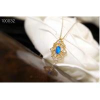 Buy cheap Adjustable Length Pendant Necklaces For Women 4 x 6mm Opal Size XSN100032 from wholesalers