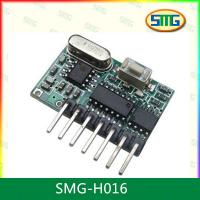 Buy cheap SMG-H016 Wirless Rf Digital Remote Control Receiver Module /Superregeneration Module from wholesalers