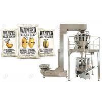 China Date Food Packing Machine , Automatic Weighing And Bagging Machine For Nuts on sale