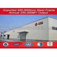 Buy cheap Heavy Steel Workshop , steel structure warehouse Easy Installation from wholesalers