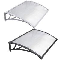 Buy cheap DIY Clear SOLID 3mm Polycarbonate PC Awning for door window house canopy UV protected from wholesalers