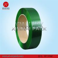 Buy cheap Green Pet Strapping of Polyester Strapping Band from wholesalers