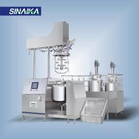Buy cheap High shear skin care dispersing emulsifier homogenizer mxier machine from wholesalers