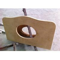 Buy cheap Sunny Beige Marble Vanity Tops 22 Wide With Basin Hole , SGS CE Listed from wholesalers