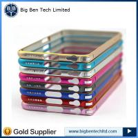 Buy cheap Bicolor Ultra Thin Slim Metal Aluminium Bumper Frame For iPhone 6 from wholesalers
