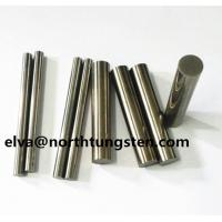 Buy cheap tungsten alloy dart barrel for steel tip soft tip rod bar sintering blank chamfer angle nickel iron 92%W polish turning from wholesalers
