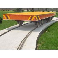 Buy cheap Workshop Use Heavy Duty Motorized Rail Cart Trolley With 16 Ton / Push Button Control from wholesalers