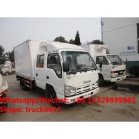Buy cheap HOT SALE! ISUZU 4*2 LHD double cabs 98hp diesel 2-3tons cold room truck, 2018s best price ISUZU refrigerated truck product