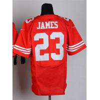 Buy cheap NFL jerseys San Francisco 49ers 23#James  red Elite Jerseys from wholesalers
