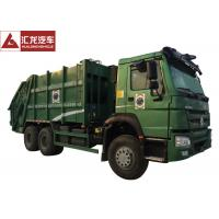 Buy cheap Turbo Chargingwaste Compactor Truck , 12SBM Garbage Truck With Compact from wholesalers