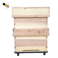 Buy cheap Multi Sweet Non Toxic Two Levels Fir Bee House Box from wholesalers