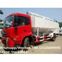 Buy cheap 2018s good price dongfeng new 20m3 10tons hydraulic discharging bulk feed truck for Bolivia, poultry feed  body  truck from wholesalers