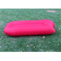 Buy cheap Waterproof Pink Inflatable Sofa Bed / Sleeping Air Bed ASB-001 from wholesalers