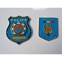 Buy cheap Zinc Alloy Soft Enamel Air Force Police Badge Bright Colors 3D / 2D Design from wholesalers