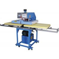 Buy cheap Hydraulic T Shirt Heat Transfer Machine Double Sided Printing Low Noise from wholesalers