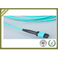 Buy cheap OM3 12 Core Optical Fiber Jumper For Industrial Automation / Control Bus System product
