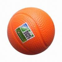 Buy cheap PU Squeeze/Stress Reliever Ball in Basketball Design product