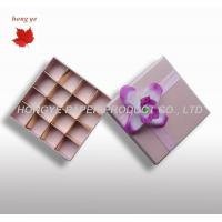 Buy cheap Cardboard Chocolate Packaging Boxes For Wedding Gift Decorative from wholesalers